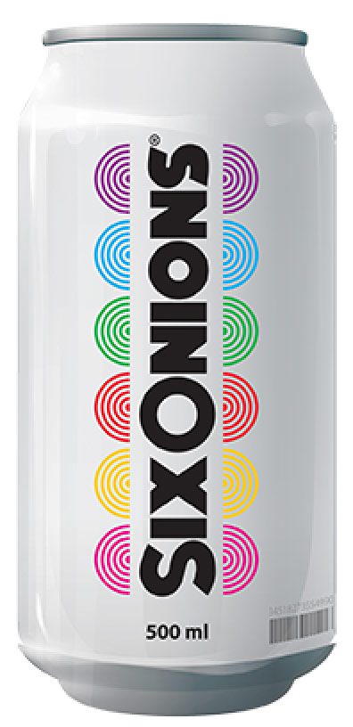 Six Onions Drink can - refreshing